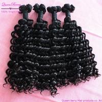 Queen 1 bundle kinky curly  new arrival bella dream virgin remy eurasian modern unprocessed virgin remy handmade hair  extension