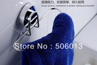 High Powered Suction Cup Towel Ring, Removable, DIY Installation Easily, Lasting and Durable, No drill holes in the wall