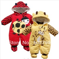 Cheap-fine,Autumn Winter Spring Newborn baby  Male and female baby Coverall Clothing Cotton Romper
