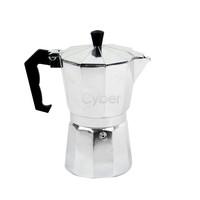 New Stove Top 6 CUPS/300ML Continental Aluminum Coffee Maker/Coffee Pot Machine Percolator TK0863