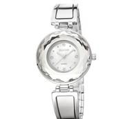 Gorgeous!! Reloj 2014 New Style Crystal Bracelet & Bangle Women Dress Watches Quartz Luxury Brand Shell Dial Timepiece WQ03