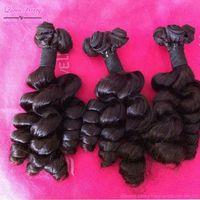 Queen berry super bella dream brazilian handmade 2 bundle of virgin huaman remy  twist loose weave for eurasian afro american