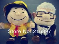 Brinquedos 26CM UP the Movies & TV  Plush Toys Grandfather & Children Cartoon Stuffed Soft Plush Toy Very Vivid Good Quality