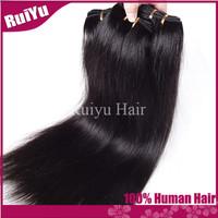 "Peruvian virgin hair straight 3 pcs/4pcs lot ,virgin peruvian hair 8""-30"" Queen hair product human hair extension can be dyed"