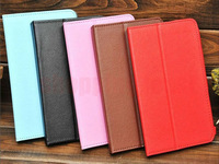 Protective Leather Case for 7 inch A13 Tablet PC/ PDA Black free shipping