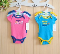 Baby Boys Romper Saying sugar spice and kickin it with daddy Romper set,newborm Baby girls boys clothing set 0-3,3-6months