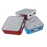 Digital boy 8400mAh Power Bank PowerBank External Battery Pack Universal Backup 2USB Charger For Samsung iPhone HTC  Huawei