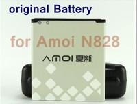 2pcs Original 2050mAh Battery for Amoi N828 Smart Phone, China Post Airmail free shipping