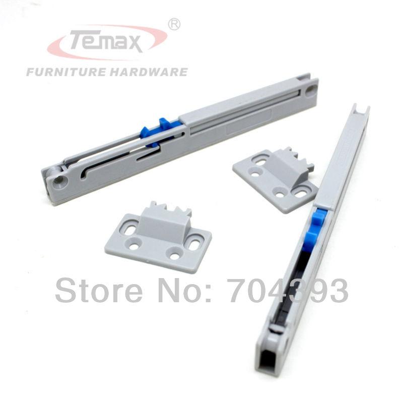 6PCS Cabinet Adapter Soft Close Drawer Slide Glides Furniture Hardware Spring Buffer Sliding Track(China (Mainland))