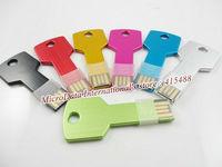 USB Flash Drive 64GB Pen Drive Pendrive 2014 New Metal Key Flash Drive Card Memory Stick Drives 32GB 16GB 8GB 4GB MicroData hoT
