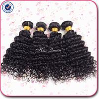 brazilian deep wave virgin hair 4 pcs lot free shipping 6A unprocessed brazilian curly virgin hair weaves cheap brazilian hair