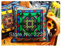 Wholesale national embroidery t pillow cover /handmade cross stitch cushion cover/ Bar seat cushion /zara women free shipping