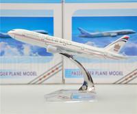 Etihad Airways B777 Civil Aviation model,16CM, Aircraft model,plane model