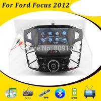 Car DVD GPS for Ford Focus 3 2012 2013 C-Max 2011 with Radio TV BT iPod USB/SD Russian OSD menu, Free Gift 4GB Navitel IGO Map