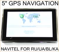 "5"" 480*272 GPS Navigation/NAVIGATOR CE6.0 800M ddr128M  4GB +FM+NAVITEL7.5(RUSSIAN/UKRAINE/Belarus/Kazakhstan)+PRIMO(EUROPE)"