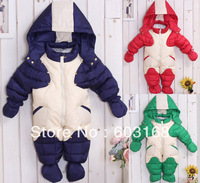 2013  New Style Excellernt  Baby Romper Outerwear & Coats Snow Wear Down Jacket Outerwear[iso-13-8-1-A2]