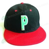 mirror Acrylic P letters fashion men women sports baseball caps studded snapback hats