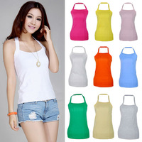 Free Shipping!  2014 Hot sale Multi-colour Sexy Women Autumn Summer Cotton T-shirts Halter Neck Temperament  Camisole Tank Top