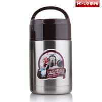 Xm-800 800ml roast stew pot stainless steel vacuum insulation  portable  conjecturing  soup