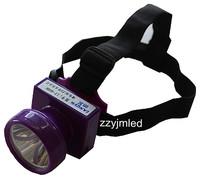 Cree LED Headlamp Cordless Miner Cap Lamp