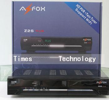 5pcs/lot  Original AZFOX Z2SPLUS HD Two Tuner Free SKS Account (IKS Option),Support Nagra 3,better than  AZFOX Z2S,free shipping