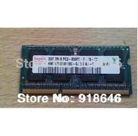 Free shipping Original Korea hynix 1GB/2GB/4GB/8GB 2RX8/1Rx8 PC3-8500s DDR3 1066MHz Notebook/Laptop Memory Ram  /single-strip