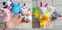 Freeshipping!Wholesale,Baby Plush Toy,Finger Puppets,Hand Puppets,50pcs/lot