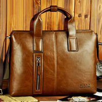 New product! 2013 male horizontal handbag commercial computer briefcase messenger bag man bag MARKSAXTON