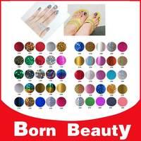 Nail Art Foil Stickers & Decals,Fashion 50Designs(100pcs/lot)Leopard Nail Transfer Craft,Fingernails Wraps Decorations Accessory