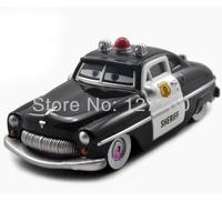 Free Shipping 100% Original Pixar cars 2 Mater Sheriff Diecast Loose Toy