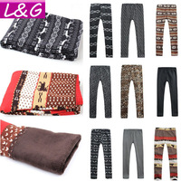 New 2013 Fashion Women Leggings Hot Selling Fitness Leggings for Women Winter Warm Legging Autumn-Summer 16-Print Leggins 30004