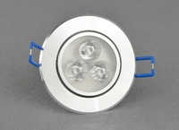 Free shipping AC85-265v surface mounted led ceiling lamp recessed down light lamp 3x1w 4x1w 3x3w 4x3w downlights 5pcs/lot