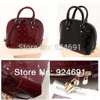 New Fashion Brand Bag Mirror Embossed Patent Leather Handbag Shoulder Bags Women Messenger Bags Travel Bags Tote