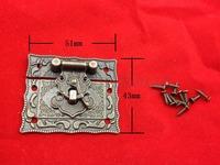 free shipping 12 pcs 51mmx43mm lock catch auto lock for Jewelry box