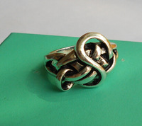 Freeshipping wholesale 20pc a lot The Hobbit ring Lord of the Rings An Unexpected Journey Lindir's Ring AR088