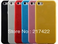 6 Colors Jelly Phone Case for Apple Iphone 5 Protective Case Mobile Phone Case