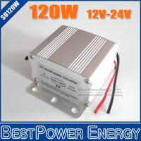 20pcs/lot DC DC Step-up Power Converter 12V 24V 5A 120W Booster Converter, Car Power Converter