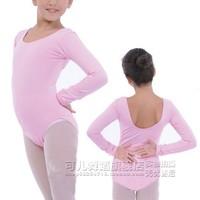 Ballet Dress for children long-sleeve girls Dance Ballet Dresses dance leotard bodysuit colorful short latin fringe dress