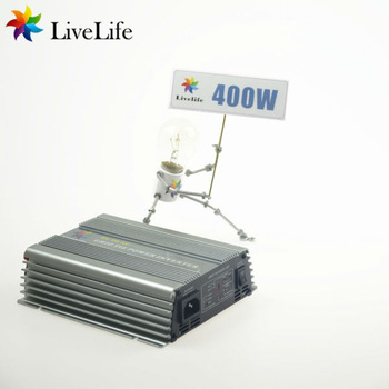 LiveLife micro inverter! 400w solar grid tie power inverter, 22-60v to 110v, DC to AC 36V PV Solar panel NEW