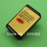 3030mAh new extended replacement  gold high capacity BATTERY+Dock charger for Samsung Galaxy note N7000 i9220 I717