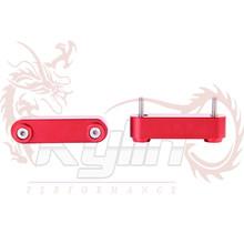 kylin- billete parasol aluminio bandas para honda con arandelas guardabarros 4 piezas con el logotipo(China (Mainland))