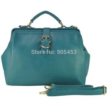 Free shipping 2014 Autumn Women's Handbag Vintage Doctor Bag Women Messenger Bags Shoulder Handbags CT15148