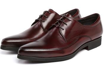 Fashion brown tan /black mens dress shoes genuine leather oxfords men business shoes brand flats formal wedding shoes