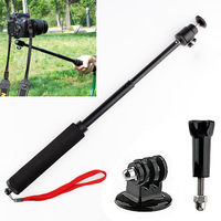 Gopro Handheld Monopod 2ni1 10PCS Camera Tripod Mobile phone Monopod + 10PCS cellphone holder