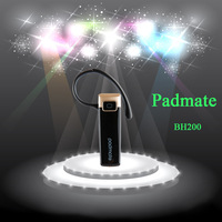 Free shipping Padmate BH200 bluetooth earphone headset wireless headphone handsfree  for mobile phone mp3 player OEM for Lenovo