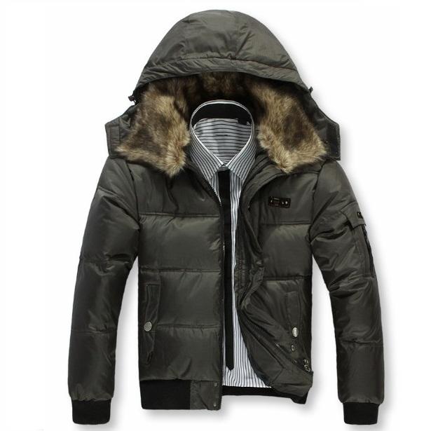 F1015 Free shiping men down jacket and men's winter jacket and Men's coat Winter overcoat Outwear(China (Mainland))