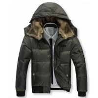 F1015 Free shiping men down jacket and men's winter jacket and Men's coat Winter overcoat Outwear
