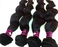Free shipping 6A+ grade Collen hair peruvian virgin hair loose wave 5pcs lot High Quality double layer sewing with 5a Price