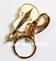 key Ring Violin Style  2GB USB Drive 1GB 4GB16GB  Memory Flash 32GB Thumb Stick Pendrives 8GB  Genuine True Capacity!
