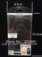 100pcs/lot 15.5X8.5X2cm phone case Retail package blister for iphone5  samsung case box shell special packing Phone packaging